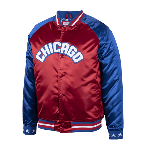 Mitchell & Ness 1988 NBA All-Star Game Satin Full-Snap Jacket XLT, 2XT, 4XT