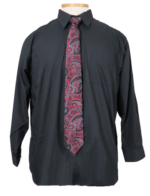 Shown with Montebello Silk Tie (not included)