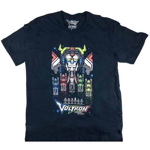 Voltron Defender of the Universe Tee 5X