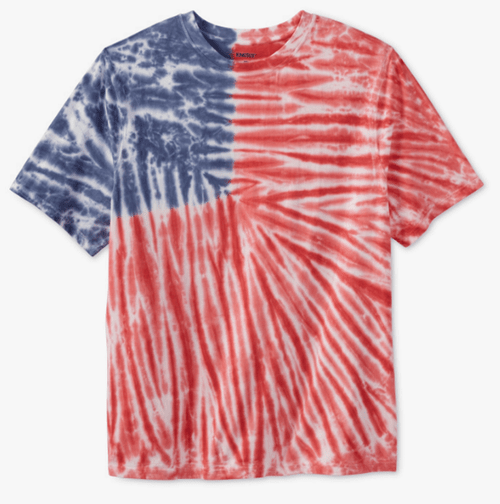 Red, White & Blue Pattern