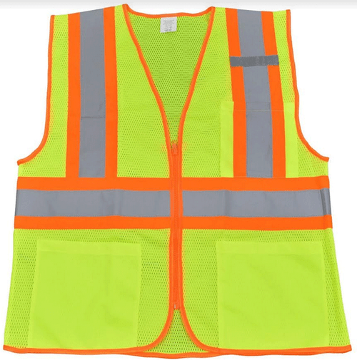 PETRA ROC LV2-CB1/LVM2-CB1 ANSI/ISEA CB1 Two Tone DOT Class II Safety Vest 2X/3X