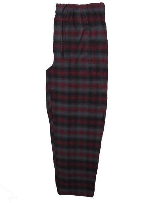 Boulevard Club Red, Black and Gray Plaid Flannel Sleep Pants 3X