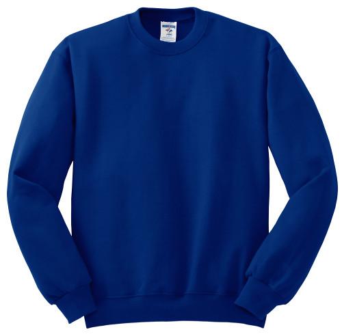 Jerzees Crew Neck Sweatshirt 3 Colors 3X, 4X
