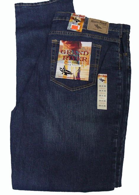 Grand River Stretch Blue Denim Jean  44, 46, 48