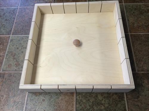 24 Bar Wood Soap Mold - Square
