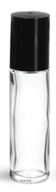 10 ml Glass Roll On Vial with caps