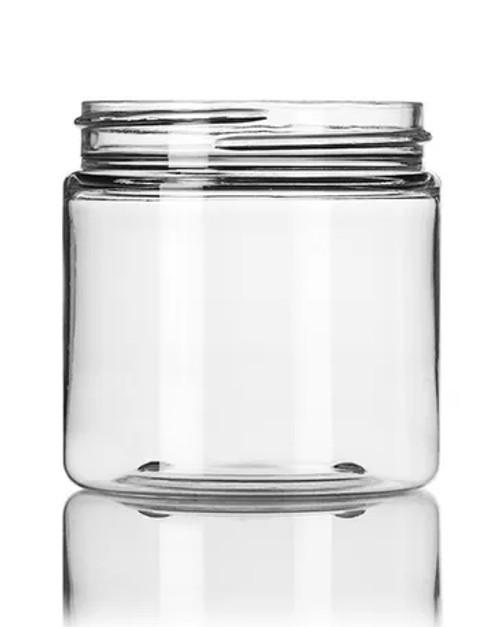 4 oz. PET Jar - Clear - 58-400