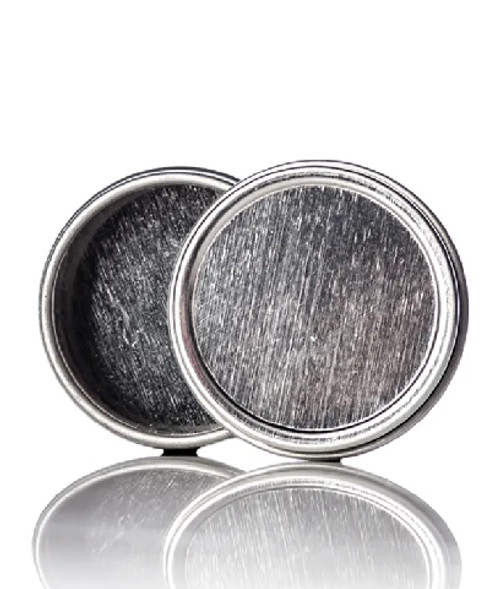 0.25 oz. Silver Tin with Lid