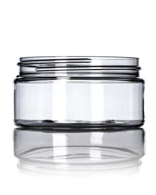 8 oz. PET Jar - Clear - 89-400