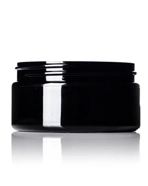 8 oz. PET Jar - Black - 89-400