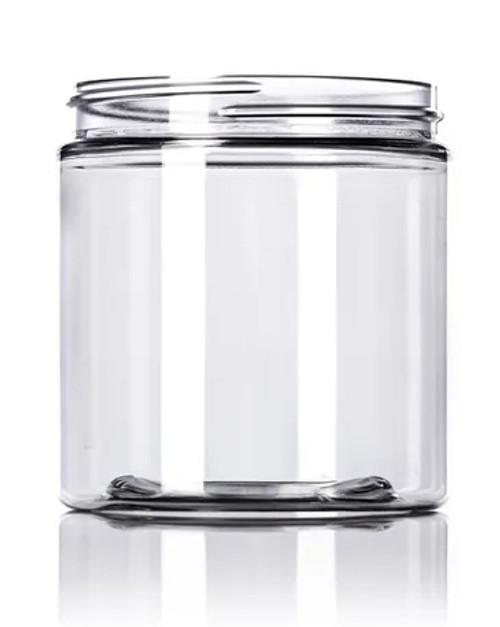 8 oz. PET Jar - Clear - 70-400
