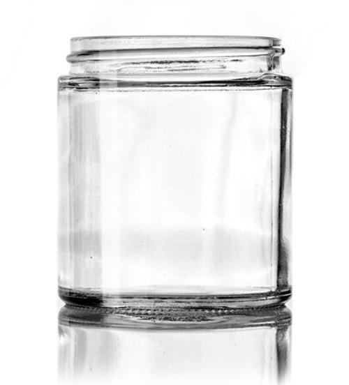 9 oz. GLASS Clear Jar 70-400