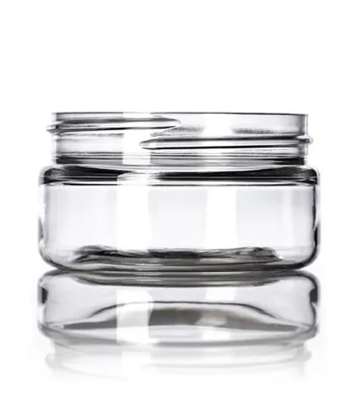 2 oz. 58 mm Clear PET Jar