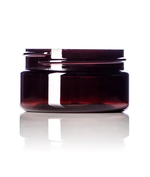 2 oz. 58 mm Amber PET Jar