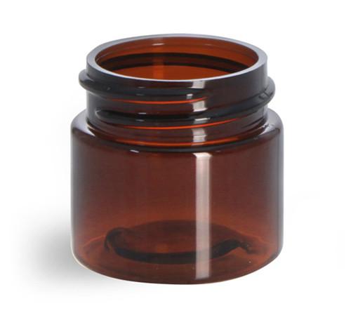 0.5 oz. Amber PET Jar