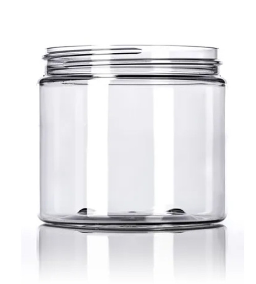 16 oz. PET Jar - Clear - 89-400