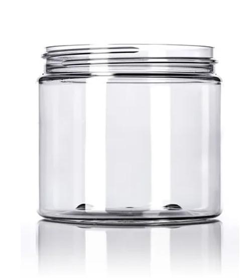 16 oz. PET Jar - Clear - 89-400