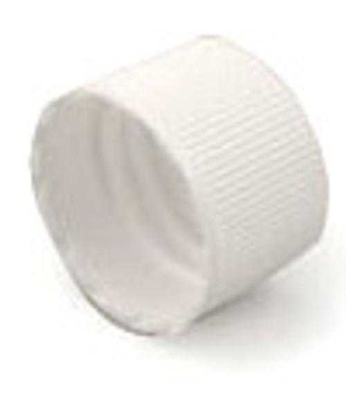 Cap - White Ribbed 24-410