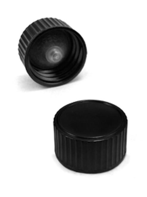 Black Phenolic Lid - 28-400