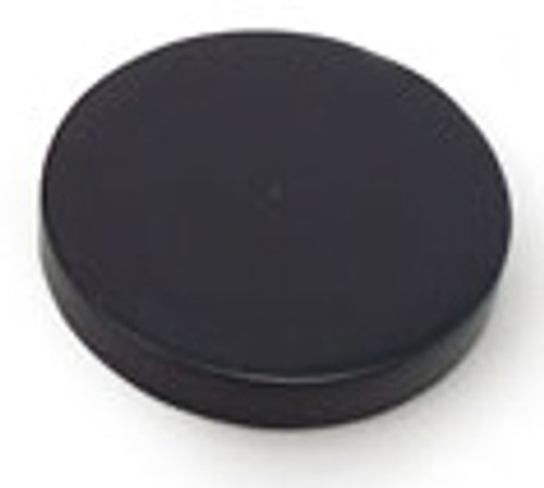 89 mm Black Smooth Lid