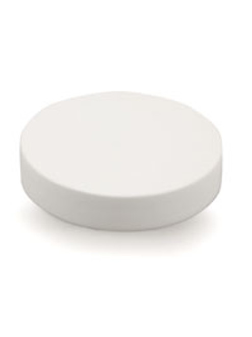 48 mm White Smooth Lid