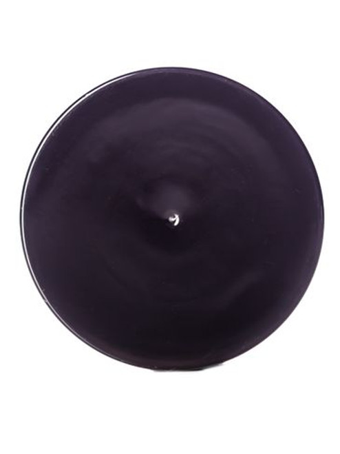 48 mm Black Smooth Lid