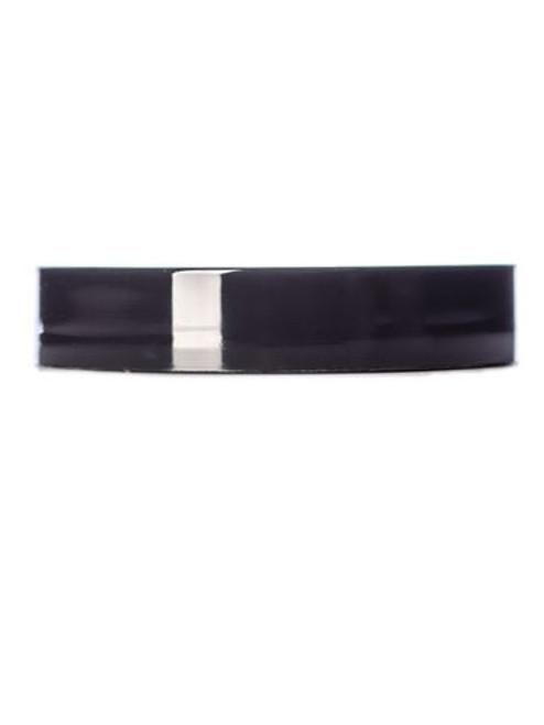 53 mm Black Smooth Lid