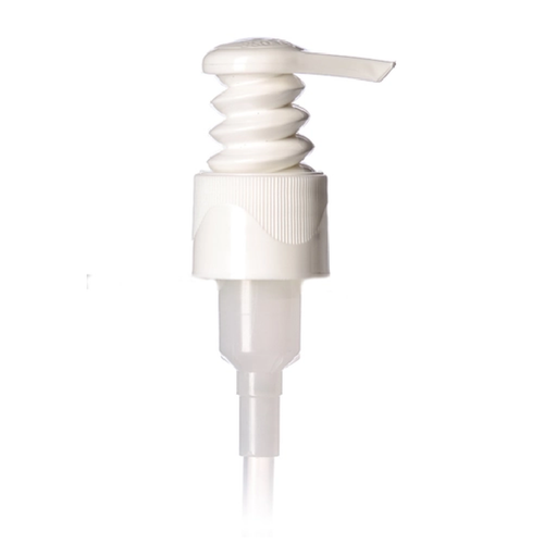 24-410 White Spiral Lotion pump