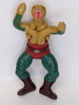 Masters Of The Universe King Hiss Action Figure - Missing Armour/Mask Etc. - 1986 - Mattel - GD