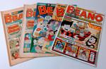Beano Bundle - x5 Randomly Selected Beano Comics From 1970-2020 - DC Thomson