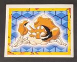 Kingler Pokemon Sticker - 1999 - Merlin