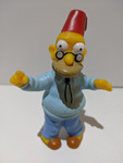 The Simpsons Vintage Burger King Simpsons Collection - Abraham/Grandpa Simpson Figure - 2000  - Burger King - VG