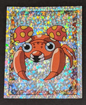 Paras Holo Pokemon Sticker - 1999 - Merlin