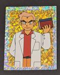 Professor Oak Holo Pokemon Sticker - 1999 - Merlin