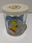 The Simpsons Bart Simpson Collectable Glass Jar - 2000 - Nutella - VG
