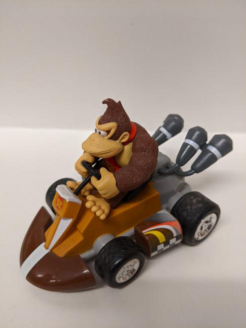 Donkey Kong Mario Kart Figure and Pull-Back Kart - 2013 - Nintendo - VG