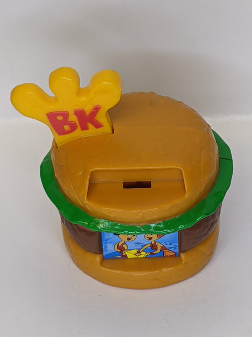 The Flintstones Viva Rock Vegas Bronto King Drive-Thru - 2000 - Burger King - GD