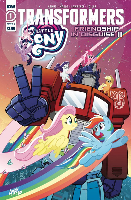 My Little Pony / Transformers II #1 - IDW Comic - 28/4/21