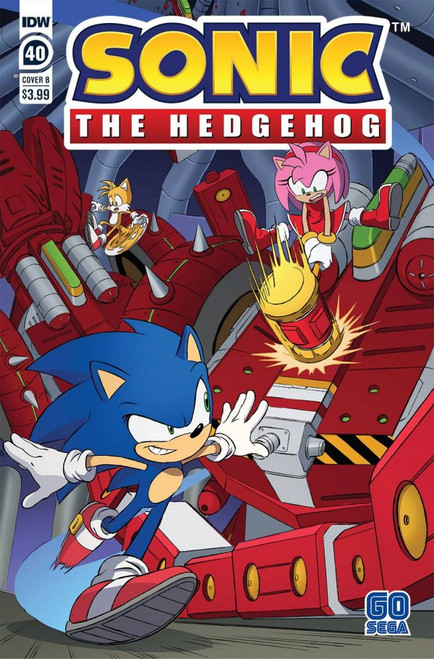 Sonic The Hedgehog #40 - IDW Comic - 28/4/21