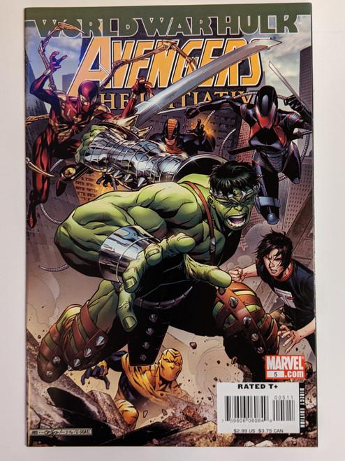 Avengers: The Initiative Volume 1 #5 - World War Hulk - First Appearance Of Mutant Zero - 2007 - Marvel Comics - NM