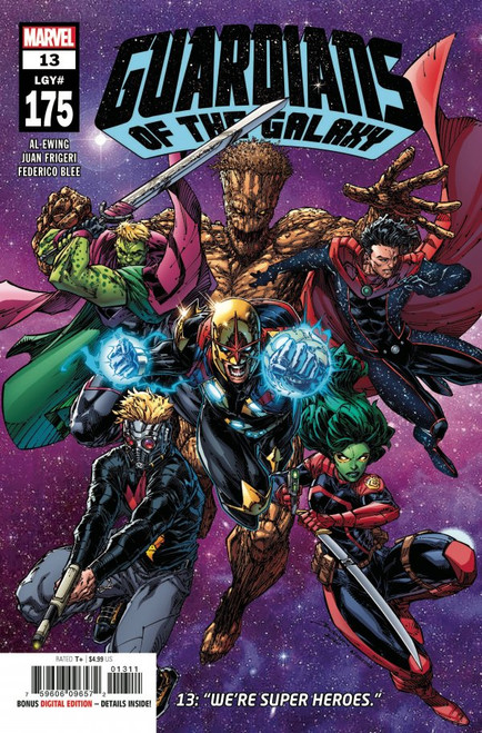 Guardians Of The Galaxy #13 - Marvel Comic - 14/04/21