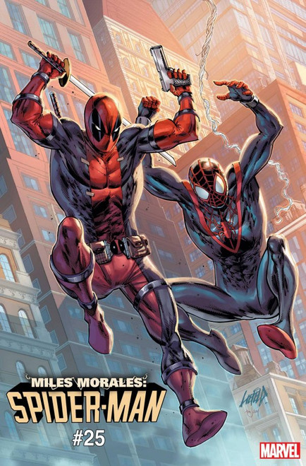 Miles Morales: Spider-Man #25 - Liefeld Deadpool 30th Anniversary Variant - Marvel Comic - 28/04/21