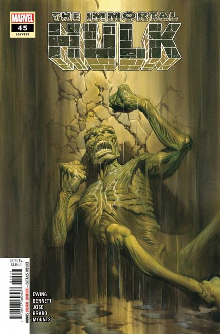 The Immortal Hulk #45 - Marvel Comic - 07/04/21