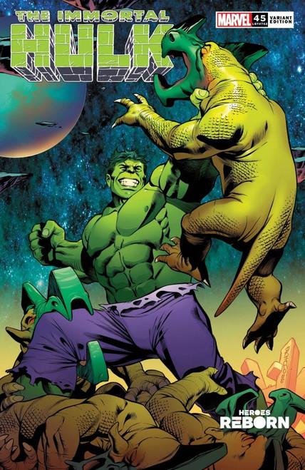 The Immortal Hulk #45 - Pacheco Reborn Variant - Marvel Comic - 07/04/21