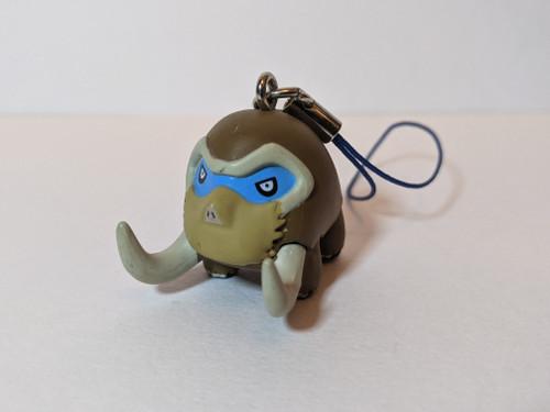Pokemon Mamoswine Keyring - 2009 - Tomy - VG