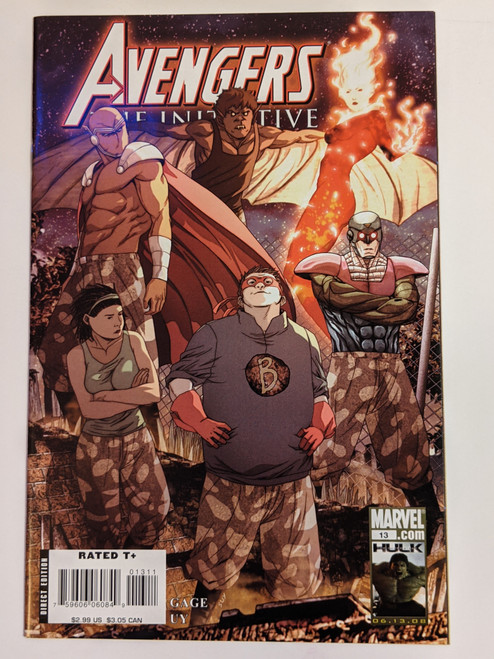 Avengers: The Initiative Volume 1 #13 - 2008 - Marvel Comics - NM