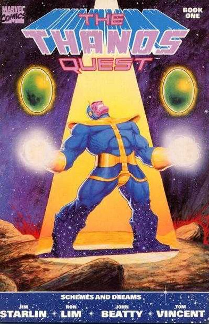 The Thanos Quest #1 - Marvel Comic - 01/07/21