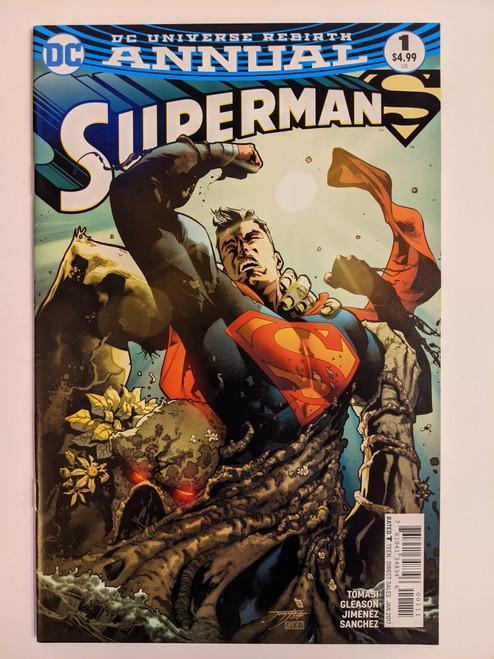 Superman Annual Volume 4 DC Rebirth - 2017 - DC Comic - NM