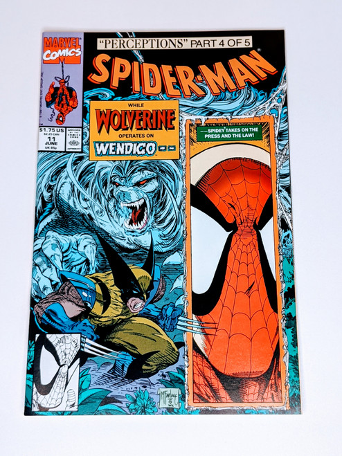Spider-Man #11 - 1991 - Marvel Comic - VG