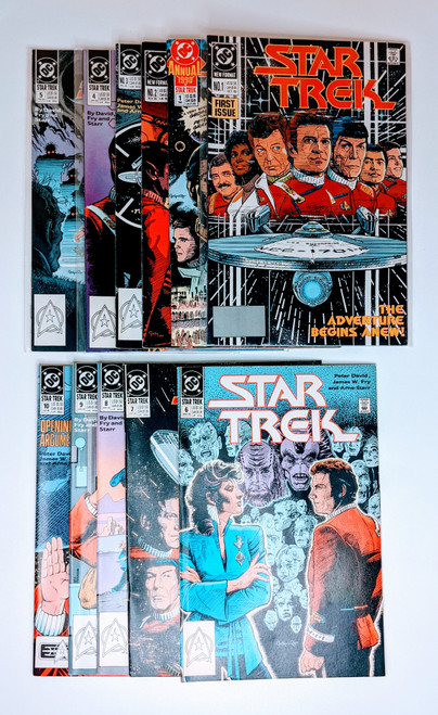 Star Trek Annual Collection #1-#10  - 1990 - DC Comics - VG